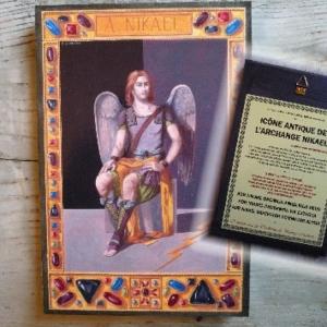 Icones Antique des Archanges Protecteurs