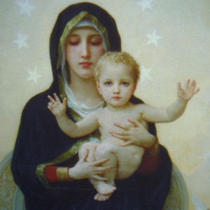 Mary, Divine Queen of Angels