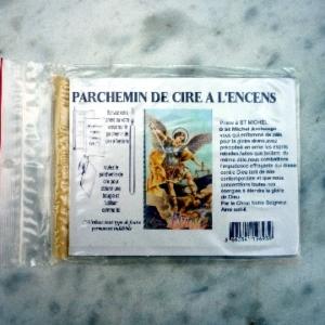 Parchemins de Cire à l'encens