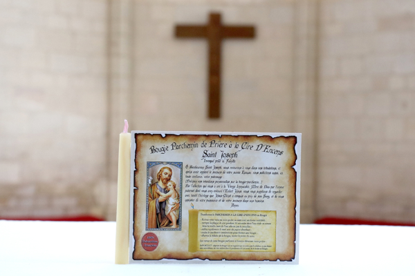 Parchemin de Cire à l'Encens de Saint Joseph