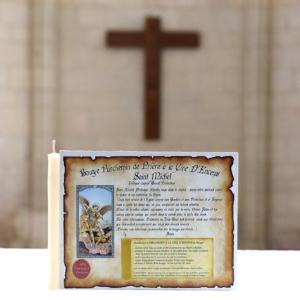 Parchemin de Cire à l'Encens de Saint Michel