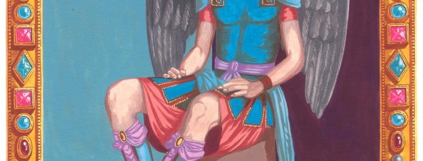 Mikaël ou Michel veut dire « Qui est comme Dieu ? » en Hébreu.Mikaël est en lutte perpétuel contre Satan et il protège l'homme loin de ses griffes démoniaques. Il est la Justice: saint Michel est l'Archange du Grand Jugement Dernier. Son symbole est la Balance : il est le peseur de nos âmes, le témoin de nos actions. Pour en savoir plus sur les protégés de MIKAEL, cliquez ici.