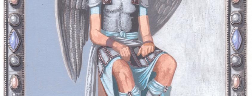 Gabriel veut dire « Messager de Dieu » en Hébreu.Gabriel est l'Archange de l'annonce à Marie. Il a le pouvoir sur la parole qui peut tout : c'est le serviteur du Verbe créateur. C'est le messager et l'Archange de la paix. Pour en savoir plus sur les protégés de GABRIEL, cliquez ici.