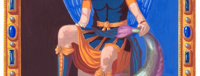Raphaël veut dire « Guérison de Dieu » en Hébreu.Le « Livre de Tobie », dans la Bible, raconte le miracle du poisson. Un Ange apparaît à Tobie lui indiquant que le fiel d'un certain cétacé guérira la cécité de son père. Cet Ange était Raphaël, d'où son nom qui signifie « Guérison de Dieu ». Pour en savoir plus sur les protégés de RAPHAEL , cliquez ici.