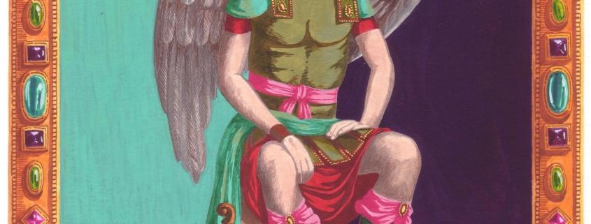 Jéhudiel veut dire « Louange de Dieu » en Hébreu.Il est considéré comme l'Archange des Arts, car la création artistique est une louange au Créateur. Pour en savoir plus sur les protégés de JEHUDIEL, cliquez ici.